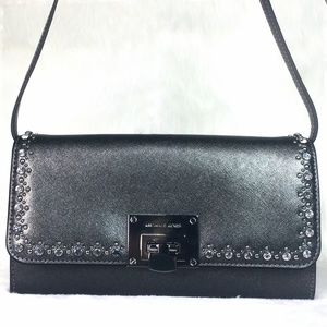 Michael Kors Tina Jeweld Clutch Crossbody Bag